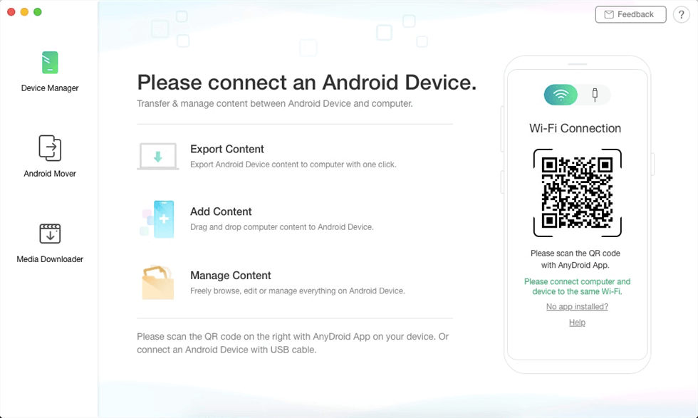 Connect Your Android Device