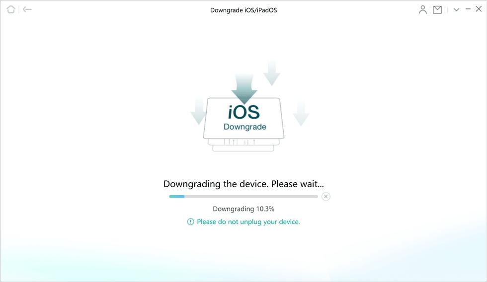 Downgrade iOS 13 to iOS 12