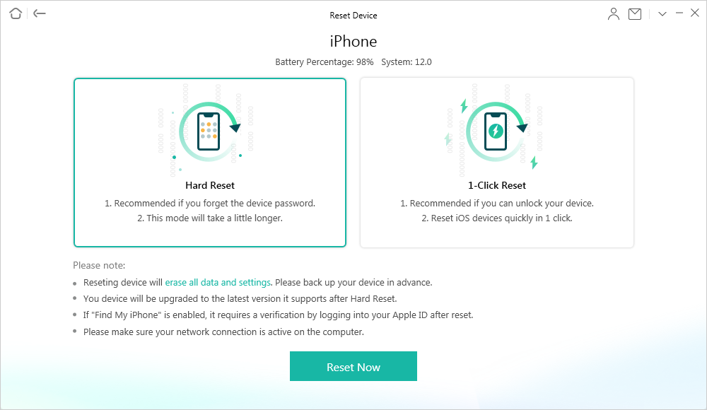 Hard Reset Your Locked or Disabled iPhone iPad