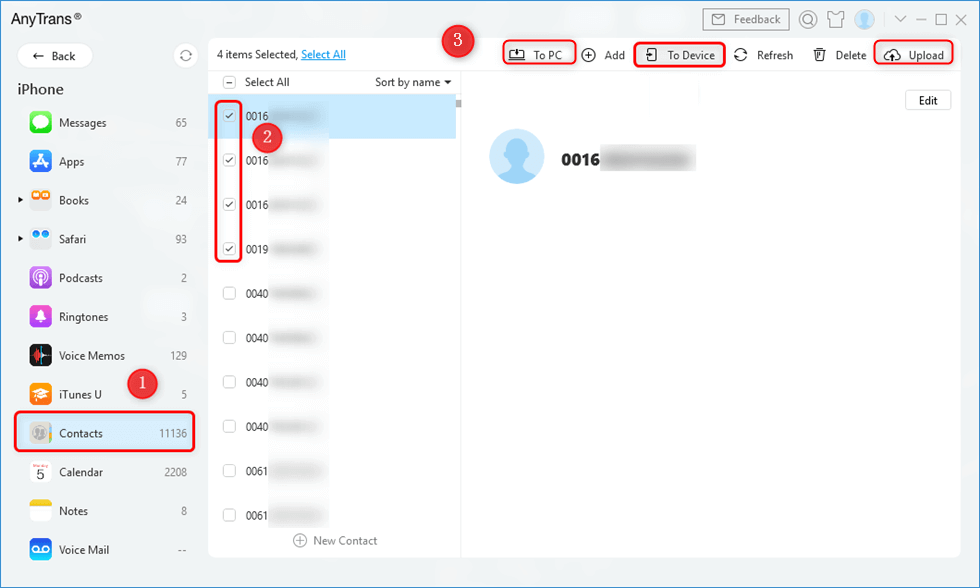 Contacts app on mac not working remotely