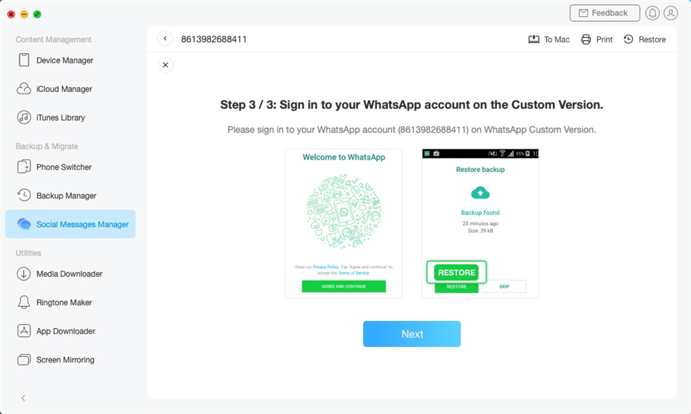 Decrypt WhatsApp Data on Google Drive Backup