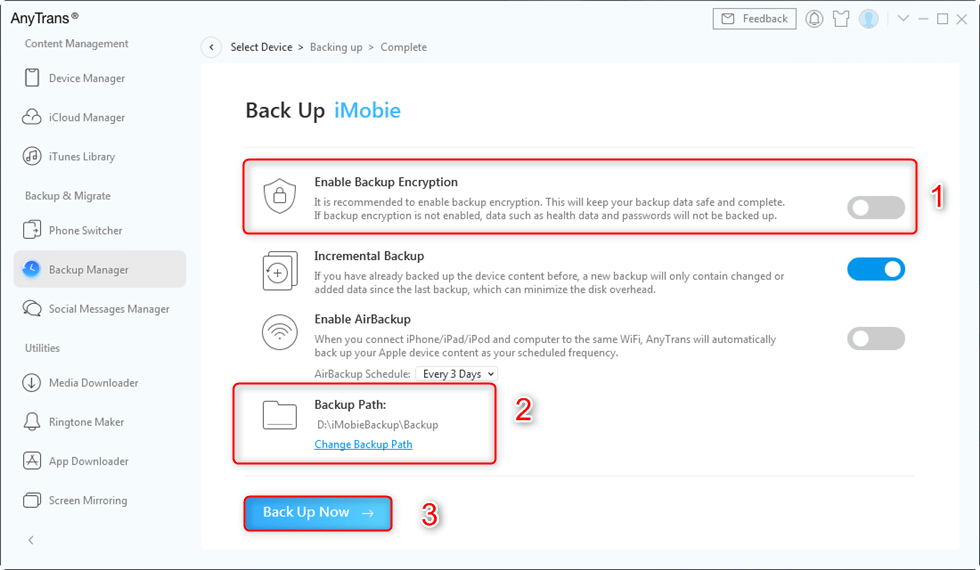 Protect Your Backup Data