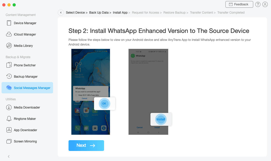 Get WhatsApp Enhanced Version on Android