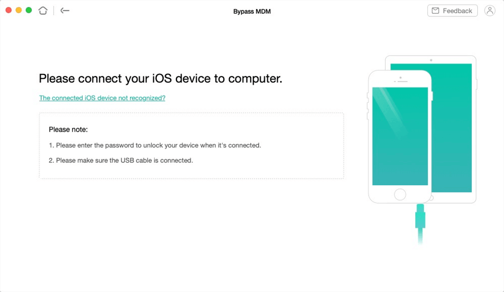 Connect Your iOS Device to the Computer