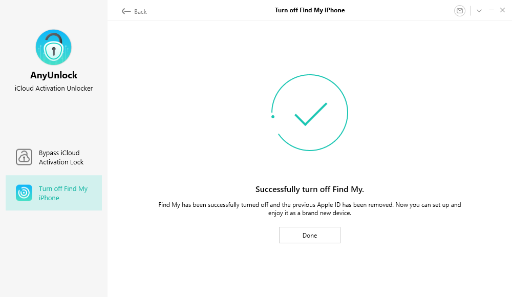 Turn off Find My iPhone Successfully