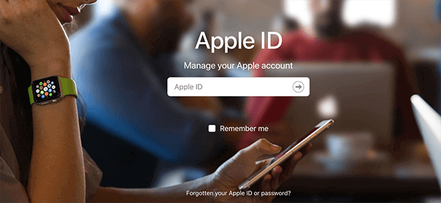 Access the Recovery Section on Apple Website
