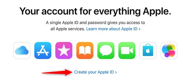 Create an Apple Account