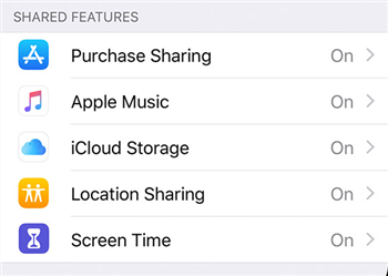 Ensure Apple Music sharing is turned on Image credit: Apple Support