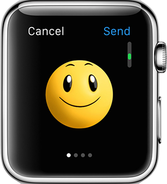 Apple Watch Tips – Send Animated emoji