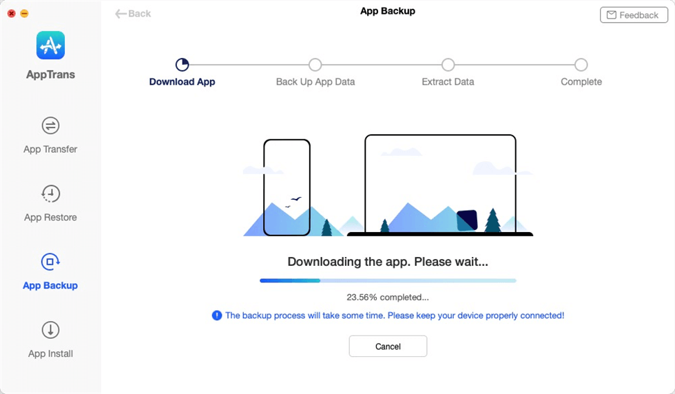 Downloading the Apps to Computer
