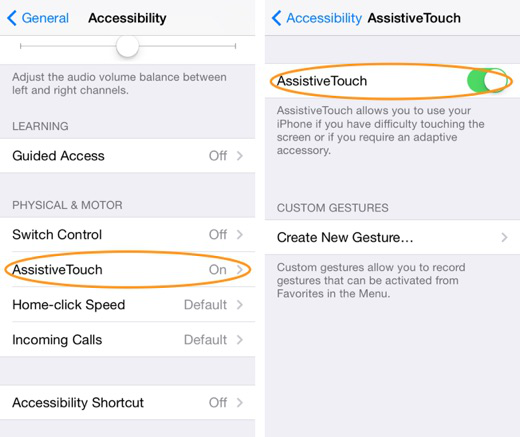 How to Turn on AssistiveTouch on iPhone iPad