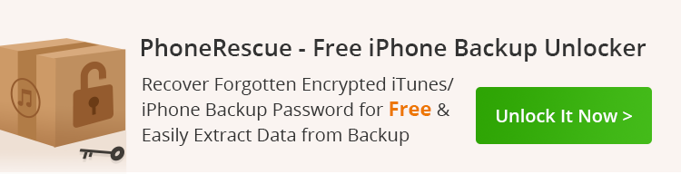 forgot encrypt iphone 4 backup password