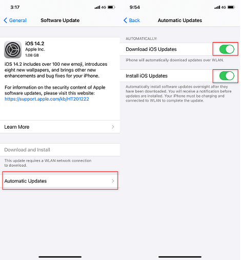 How to Stop an Update on iPhone