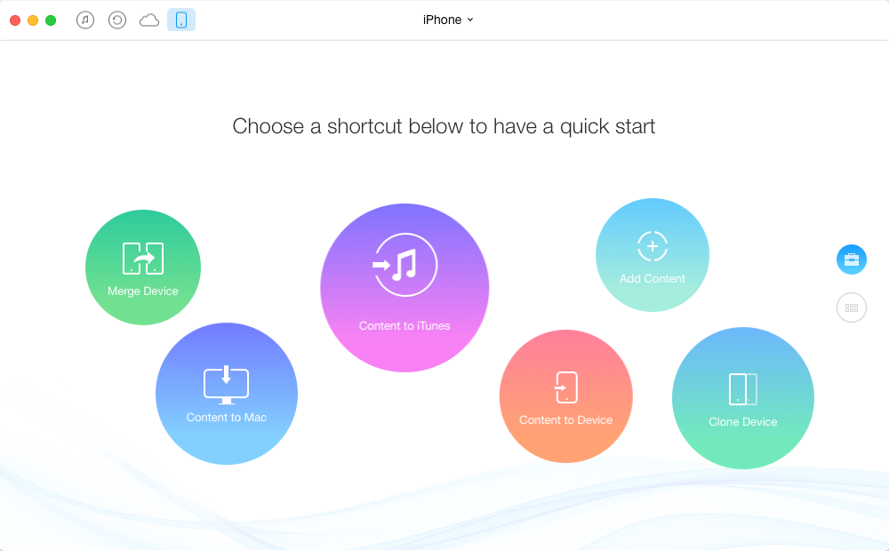 How to Backup iPhone without iTunes or iCloud – Step 1