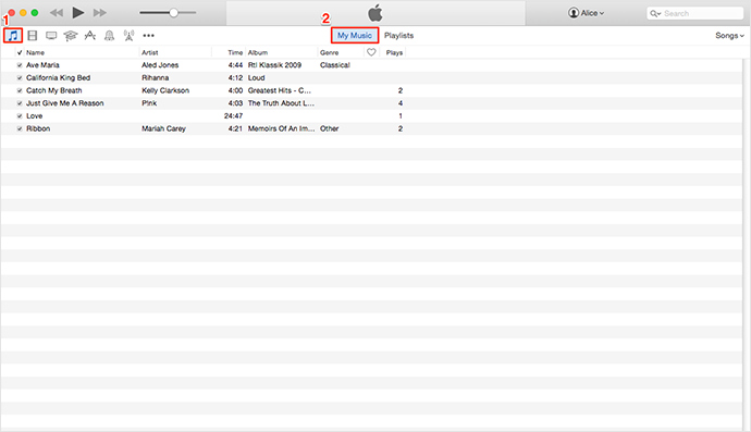 Back Up iTunes Library Manually – Step 3