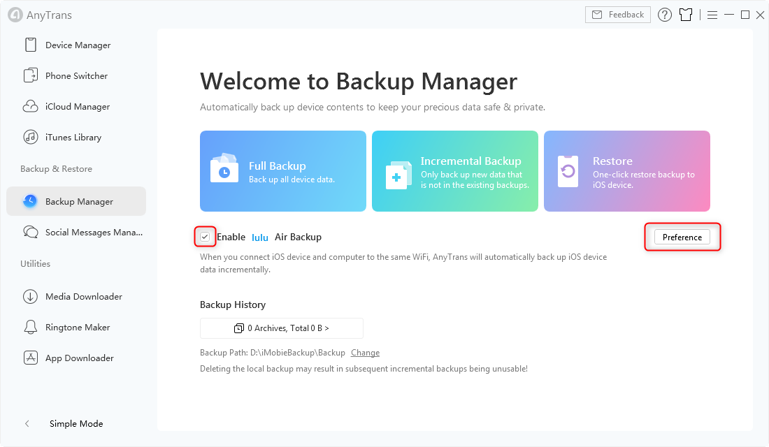 How to Backup iPhone Automatically
