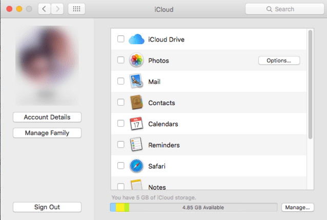 How to Backup MacBook Pro to iCloud − Step 2