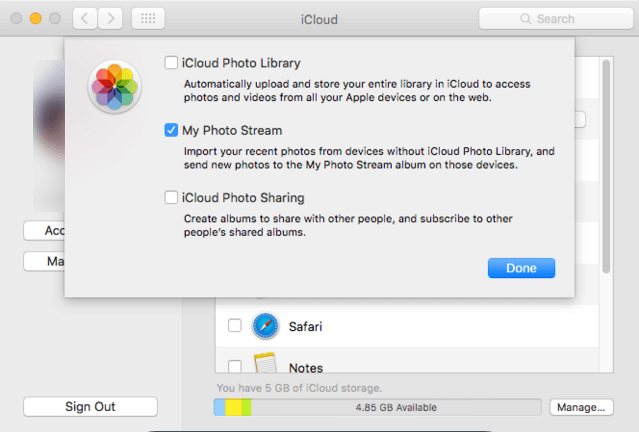 How to Backup MacBook Pro to iCloud − Step 3