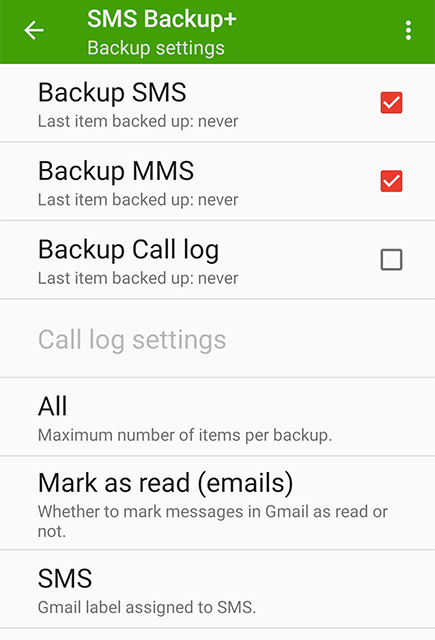 How to Backup Messages on Android to SD Card - Step 4