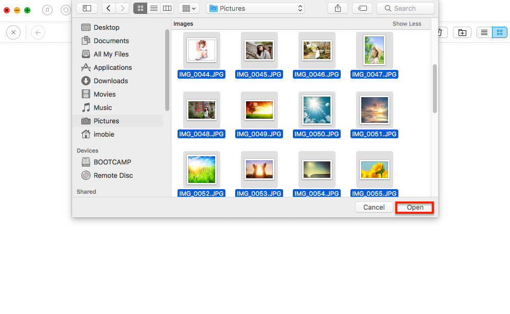How to Backup Photos to iCloud Drive with AnyTrans - Step 3