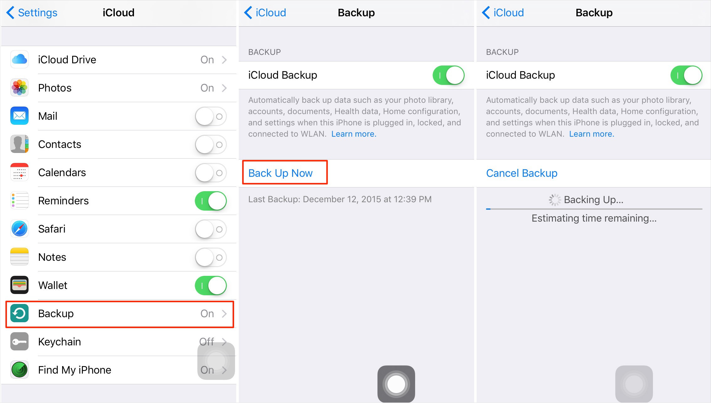 How to Save Text Messages on iPhone to iCloud
