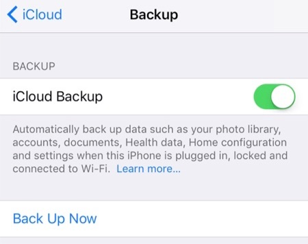 How to Backup Text Messages on iPhone X/XS/XS Max/XR with iCloud