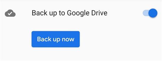Back Up WhatsApp Data to Google Drive