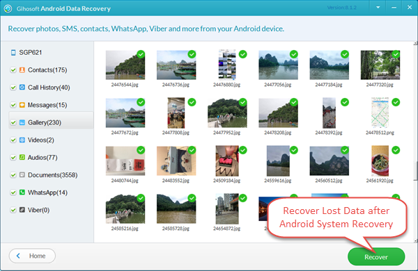 Best Android Data Recovery Software – Gihosoft Android