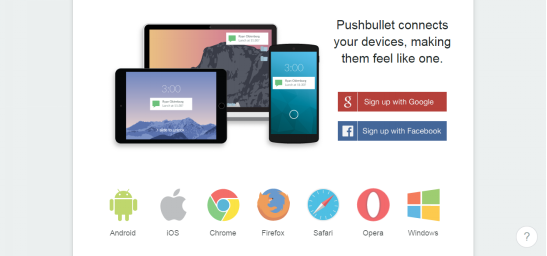 Top 5 Best Android Wireless Transfer App - Pushbullet