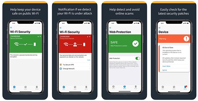 Norton antivirus for the iPhone