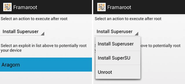 Top 5 Best Apps to Root Your Android Phone - Framaroot