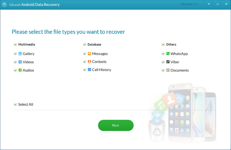Best Android Data Recovery App – Gihosoft Android Data Recovery