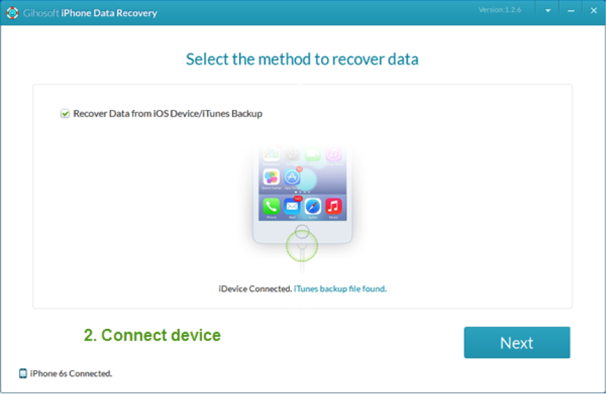 Best iPhone/iPad Data Recovery Software – Gihosoft iPhone Data Recovery