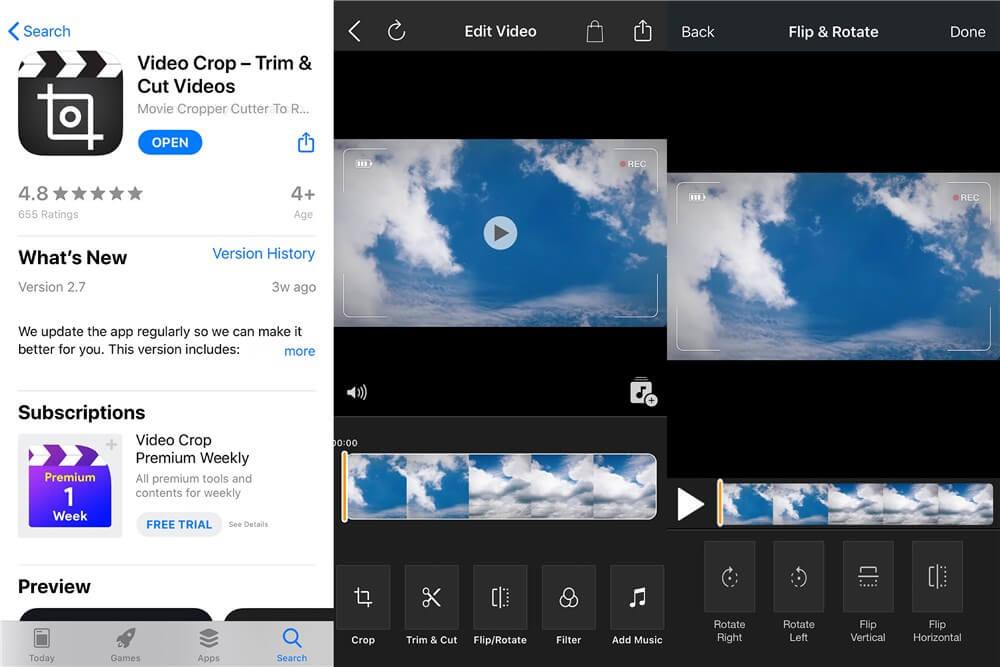 Video Crop - Trim & Cut Videos