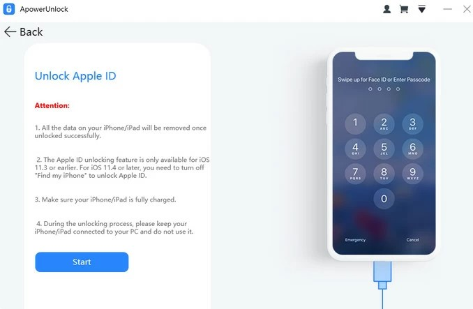 ApowerUnlock Homepage