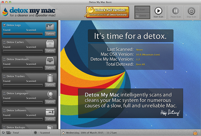 Mac Cleaning Software – Detox My Mac