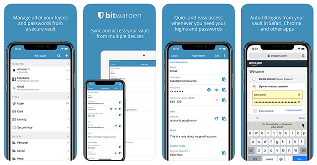 Bitwarden iOS Password Manager