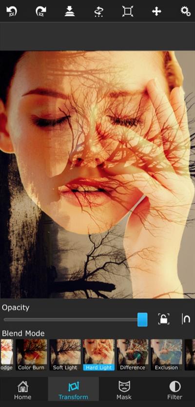 Superimpose app