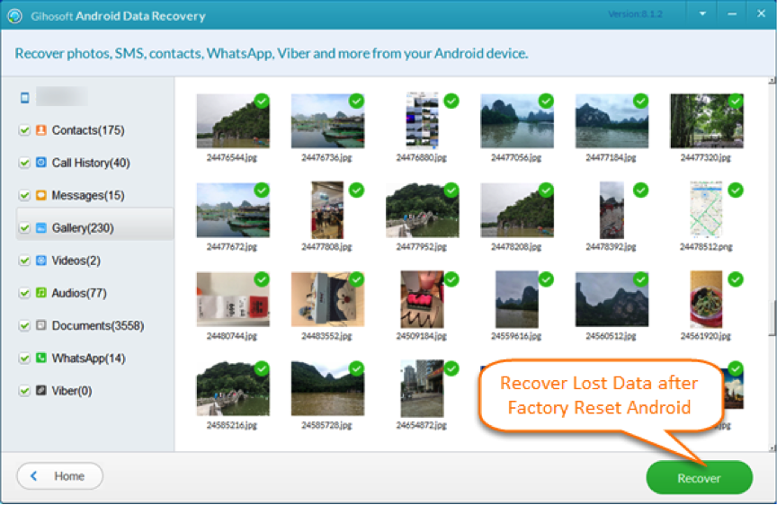 Best Samsung Photo Recovery Software in 2018 – Gihosoft Android