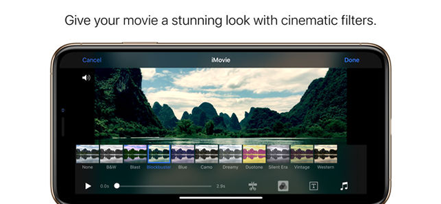 iMovie Video Editor For the iPhone