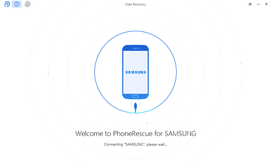 How to Recover Data from Broken Samsung – Step 1