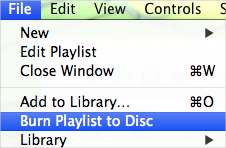 How to Burn a CD from iPhone/iPad/iPod Playliste
