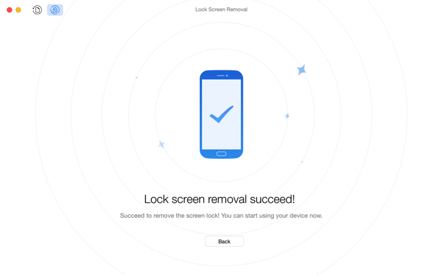 Bypass Android Lock Screen without Google Account – Step 4