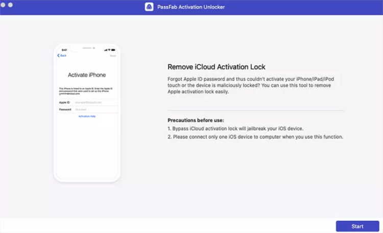 Bypass Apple Watch iCloud Lock by PassFab