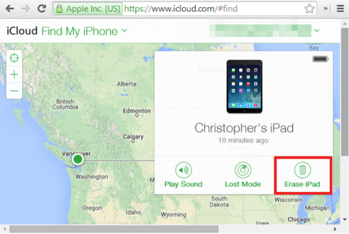 How to Bypass iPhone/iPad Password using iCloud - Step 2