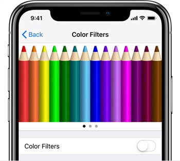 Change The Color Filters
