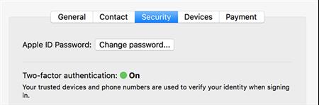 Change iCloud Password On A Mac