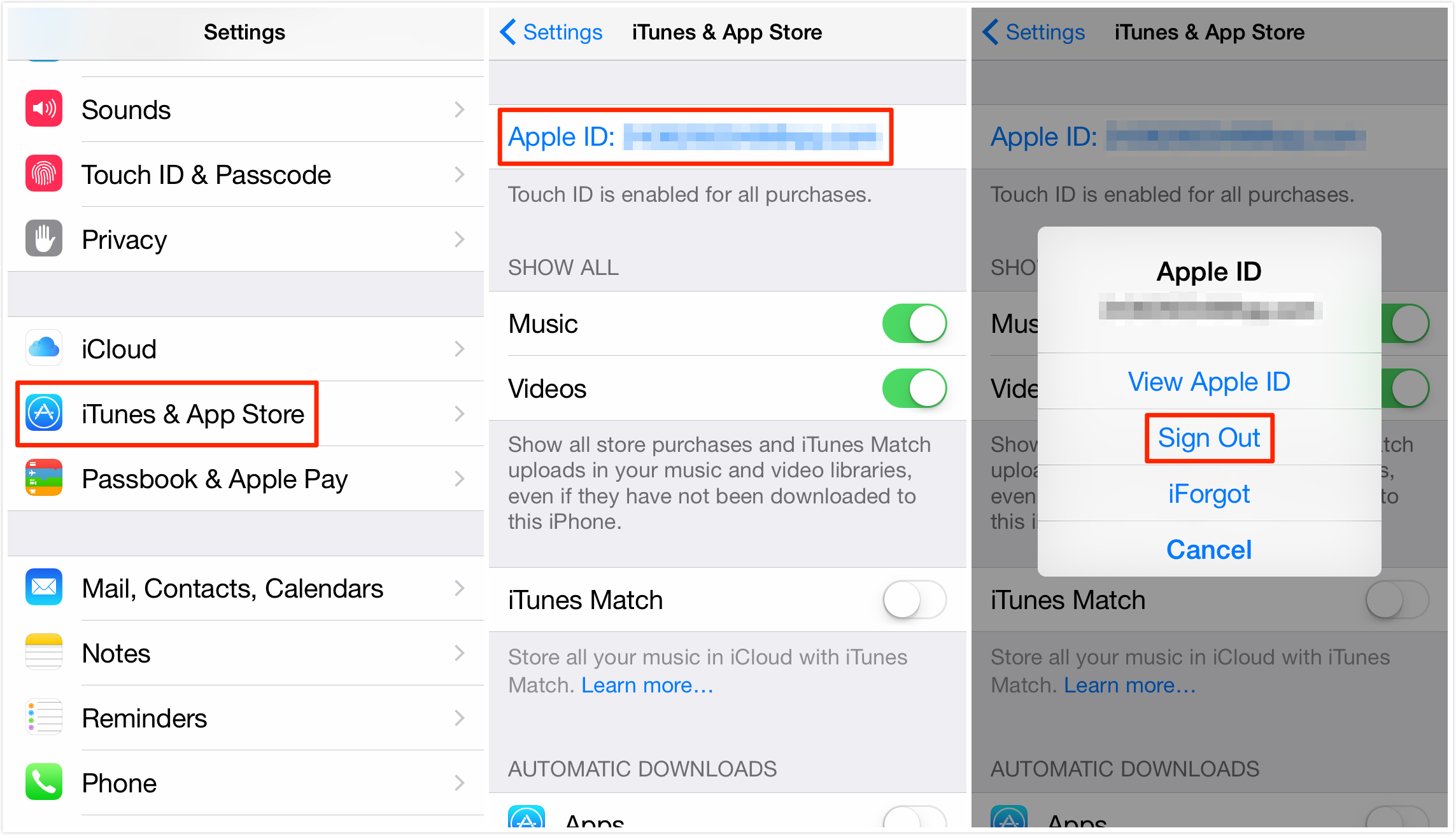 how to change store in iphone how to change itunes account on iphone imobie guide 6192