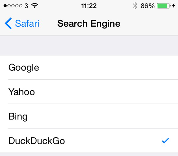 How to Change Search Engine on iPhone