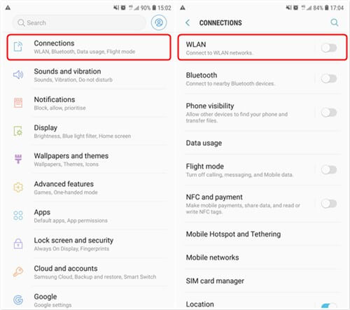 Check Wi-Fi Connection on Android
